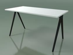 Tavolo rettangolare 5400 (H 74 - 69x139 cm, melamina N01, V44)