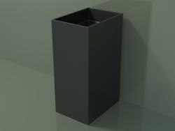 Floor-standing washbasin (03UN16301, Deep Nocturne C38, L 36, P 50, H 85 cm)