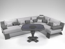 Canapé et Table