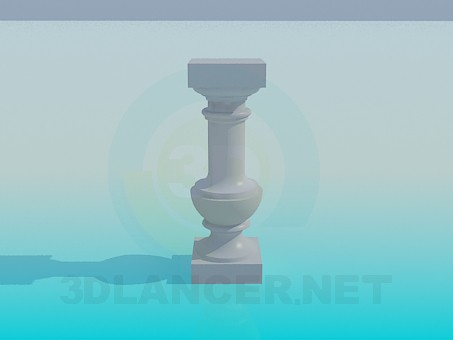 3d model Stand column - preview
