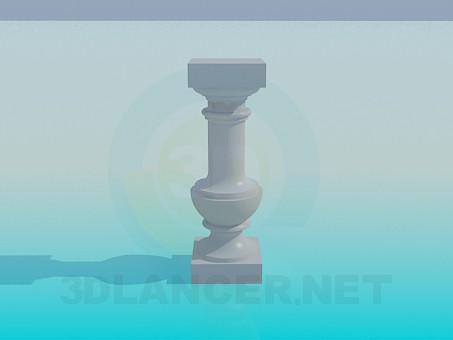 descarga gratuita de 3D modelado modelo Soporte de columna