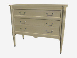 COMMODE 3 tiroirs JM002-DL