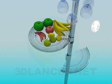 modelo 3D ESTANTERIA para la cocina - escuchar