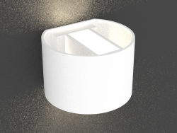Surface-mounted wall-mounted LED light (DL18420 11WW-White Dim)