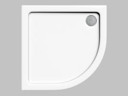 Palette semi-circulaire 80 cm Minimal (KTN 054B)