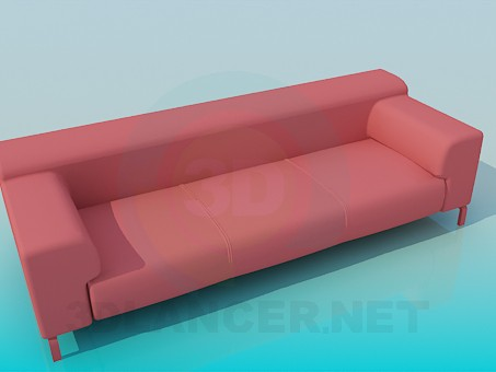 3d model Sofa in high-tech style - preview
