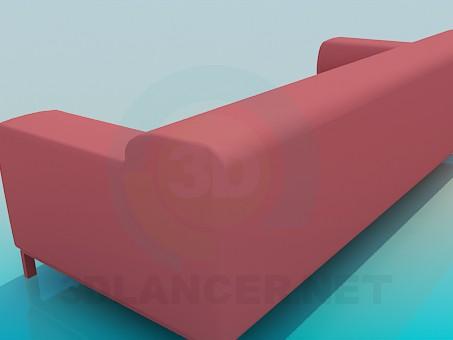 3d модель Диван в стиле хай-тек – превью