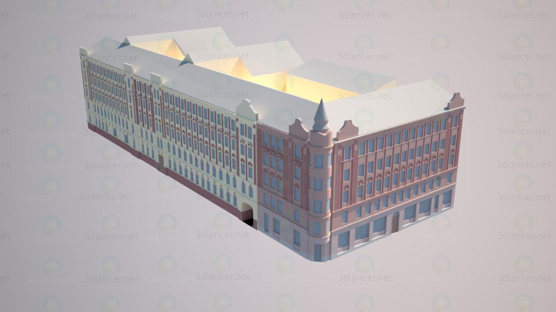 modelo 3D Calle Bolshaya Zelenin 31/1 - escuchar