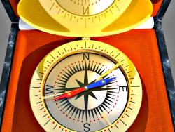 Компас-часы.