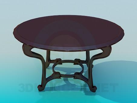 3d model Mesa para el té - vista previa