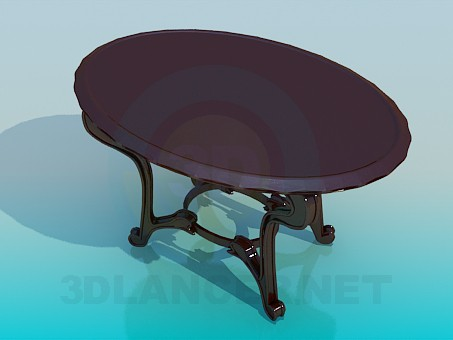 3d model Table for tea - preview