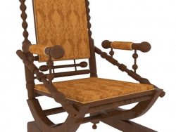 English style rocking chair