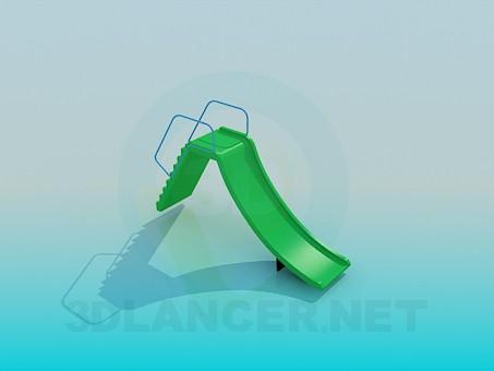 descarga gratuita de 3D modelado modelo tobogan