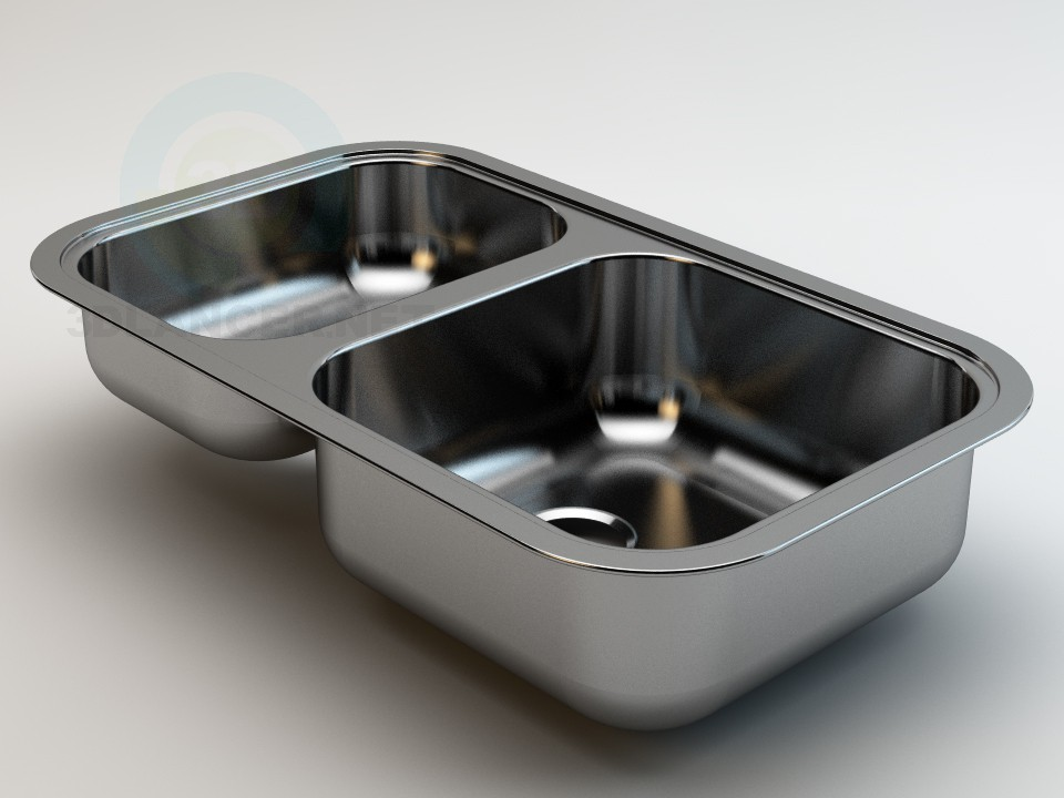 3d modeling Regent 15 Sink model free download
