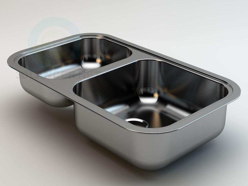 3d model Regent 15 Sink - preview