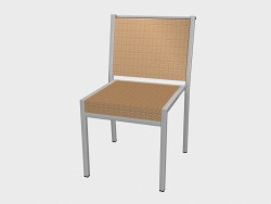 Стул обеденный Syntetic Fiber Dining Chair Stackable 1211