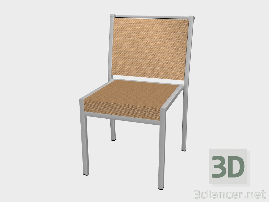 3d model Chair dining Syntetic Fiber Dining Chair Stackable 1211 - preview
