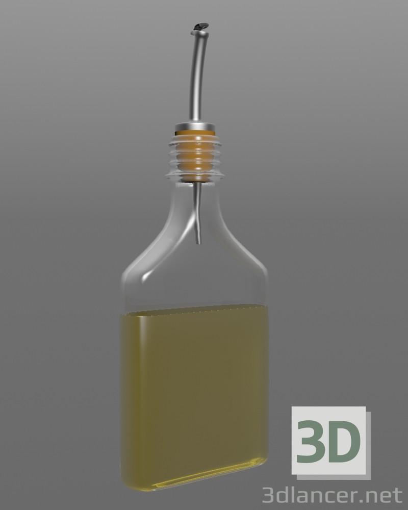 3 डी मॉडलिंग एक मशीन के साथ तेल की बोतल मॉडल नि: शुल्क डाउनलोड
