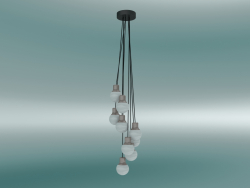 Pendant lamp Mass Light (NA6, Copper)