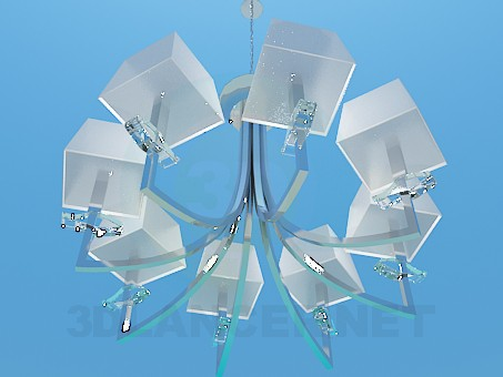 3d model The chandelier in the high-tech style - preview