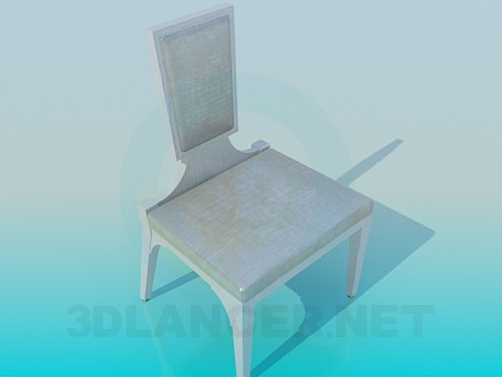 3d model Chair with an unusual design - preview