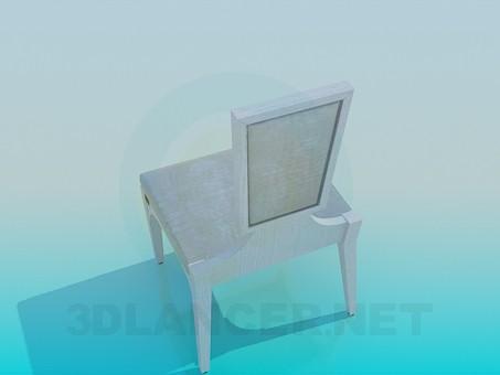 3d модель Стул с необычным дизайном – превью