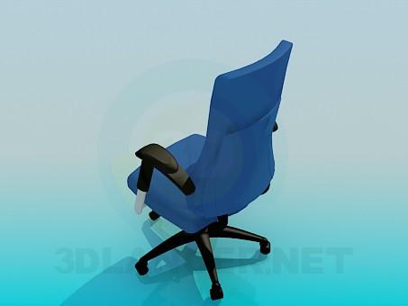 3d модель Офисное кресло – превью