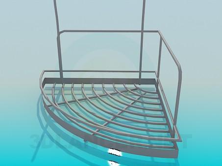 3d модель Подставка на кухню – превью