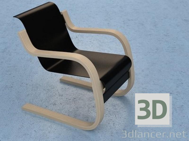 3 डी मॉडल Artek कुर्सी - पूर्वावलोकन