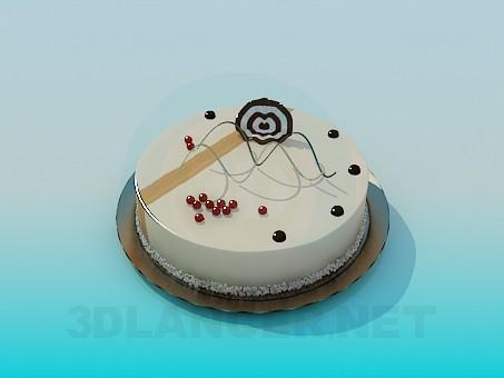 3d моделирование Торт модель скачать бесплатно