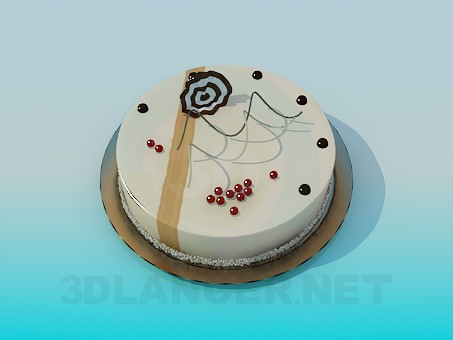 3d model Cake - preview