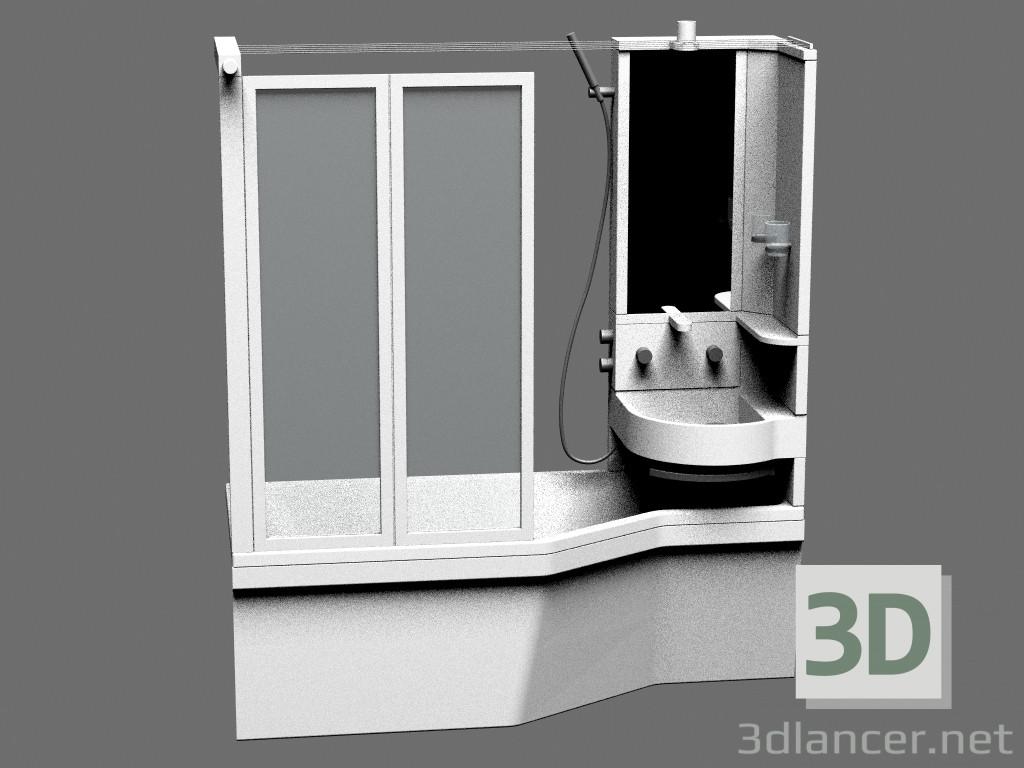 Wc Net Vasca Da Bagno : D modella colonna lavabo vasca da bagno dal produttore
