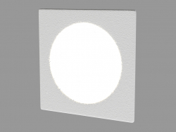 Wall-mounted LED lamp (DL18427 11WW-SQ White)