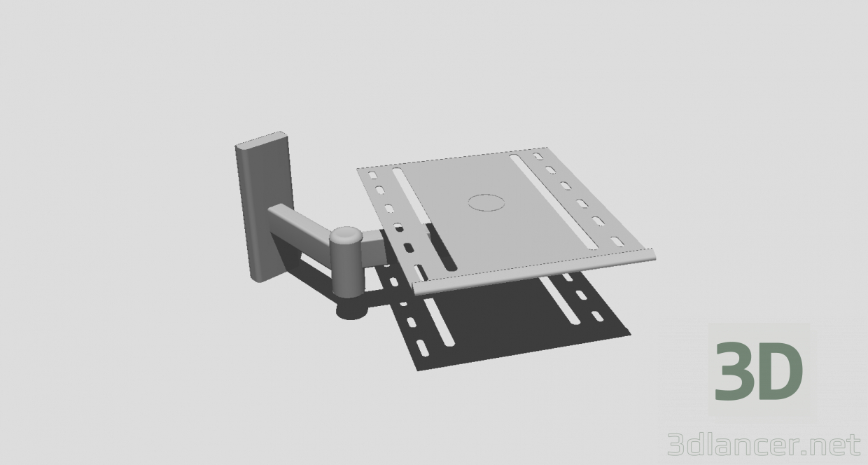 3d model TV Bracket - preview