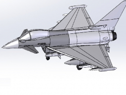 Eurofighter Typhoon FGR4 он же EF2000