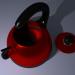 3 डी चायदानी मॉडल खरीद - रेंडर