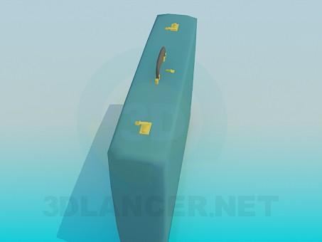 3d модель Чемодан – превью