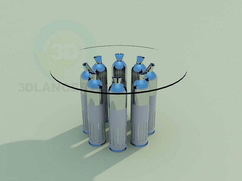 3d модель Кавовий столик 2 – превью