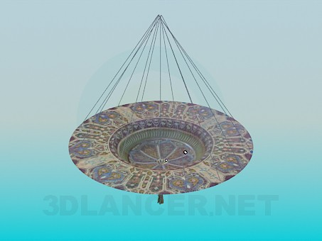 3d modeling Hanging bowl for decoration model free download