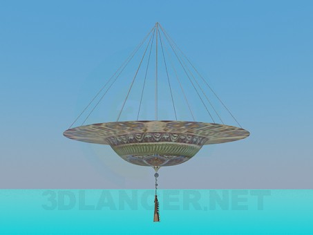 3d model Hanging bowl for decoration - preview