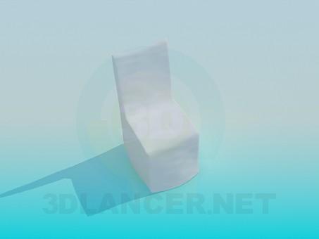 3d моделирование Стул в чехле модель скачать бесплатно