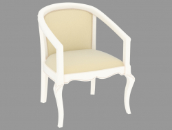 KP 401 chair (white patinated, 61x61 H80)