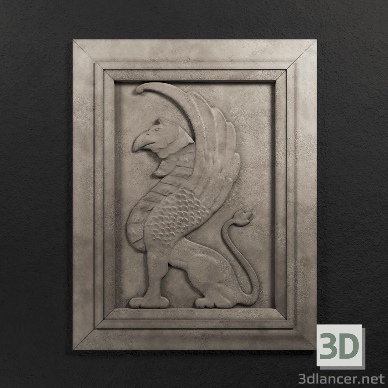 3d Gryphon_Side model buy - render
