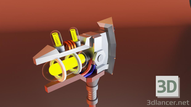 3d model Fortnite Ax - preview