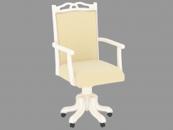 Wheelchair KP 303 (white patinated, 58x56 H108)