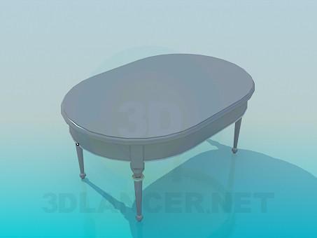 3d моделирование Столик интерьерный модель скачать бесплатно