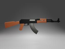 AK-47 saldırı tüfeği