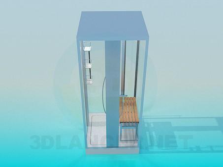 3d моделирование Душевая кабина модель скачать бесплатно