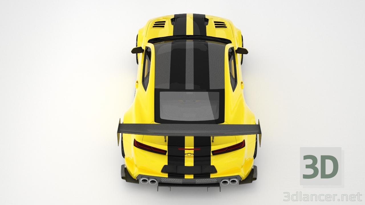 3d Chevrolet Camaro model buy - render