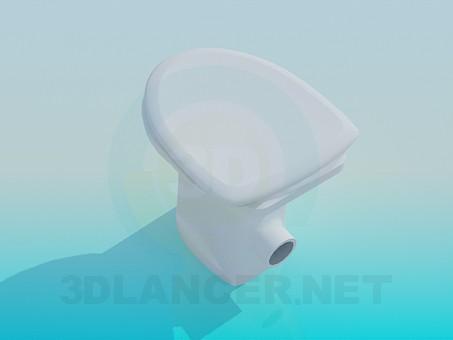 3d model Toilet - preview